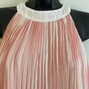 MOTHERS DAY Swing dress spring summer pleated EUC